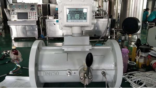 青天仪表2台气体涡轮流量计发货