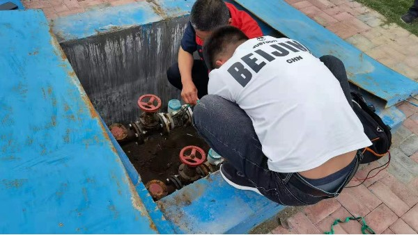 青天仪表污水流量计使用现场